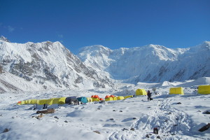 South Enelchek (Base camp)